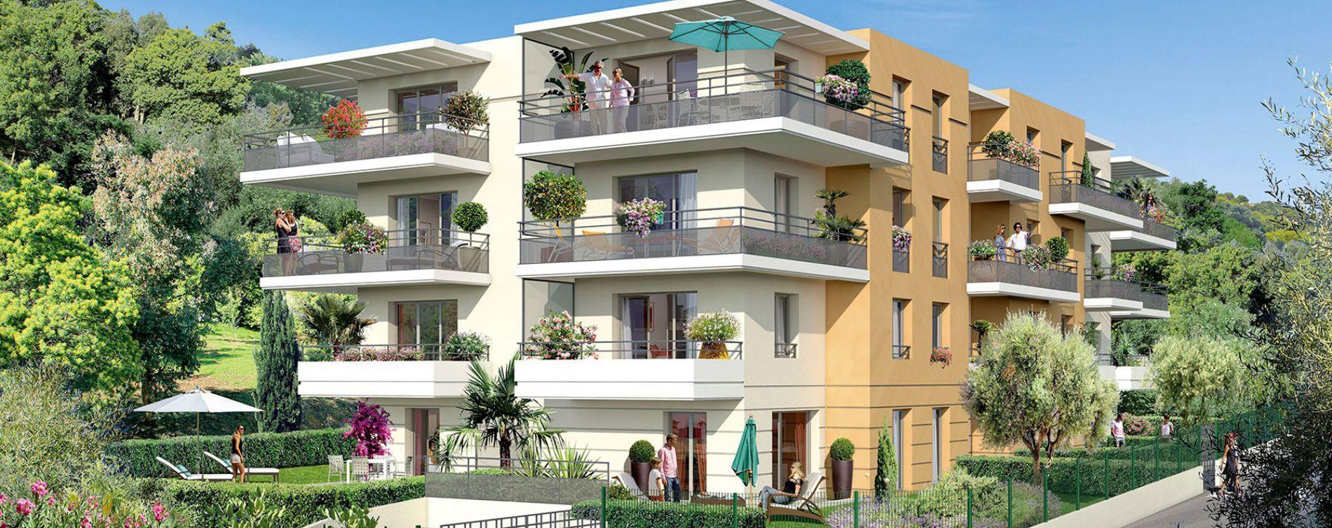 Nice : programme immobilier neuve « Villa Flora » en Loi Pinel
