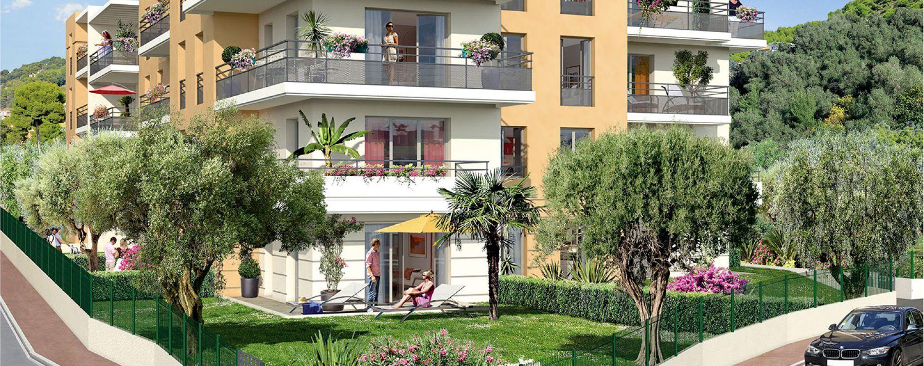 Nice : programme immobilier neuve « Villa Flora » en Loi Pinel (2)