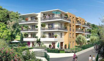 Nice : programme immobilier neuf « Villa Flora » en Loi Pinel