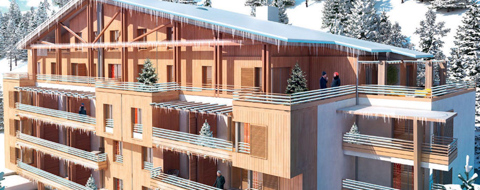 Péone : programme immobilier neuve « L'Argentera »