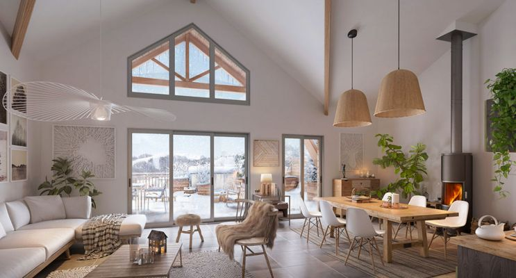 Péone : programme immobilier neuf « Valberg Horizon »