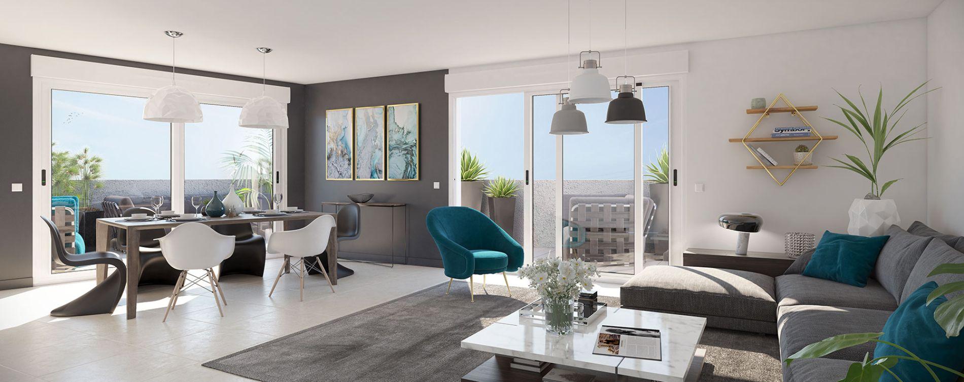 Roquebrune-Cap-Martin : programme immobilier neuve « Kosmic » en Loi Pinel