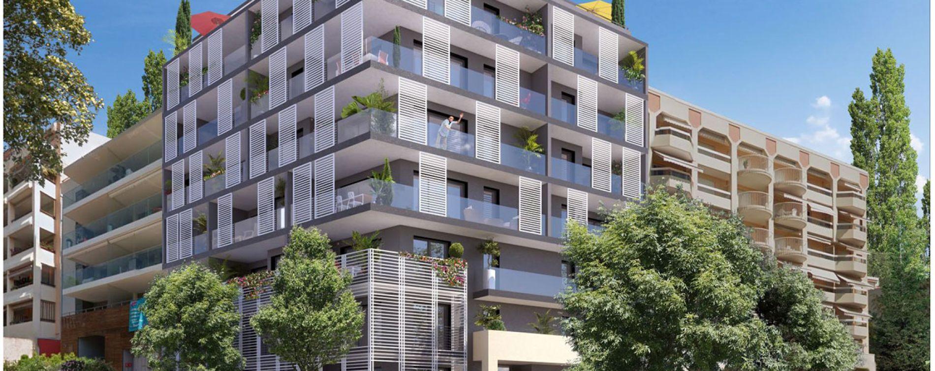 Roquebrune-Cap-Martin : programme immobilier neuve « Kosmic » en Loi Pinel (2)