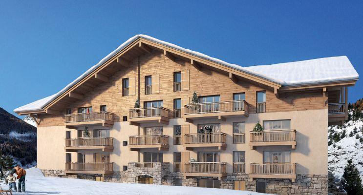 Photo du Résidence « Le Mont d'Auron » programme immobilier neuf à Saint-Étienne-de-Tinée