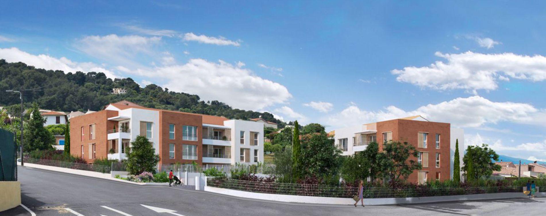 Saint-Laurent-du-Var : programme immobilier neuve « Le Domaine de Maurilène » en Loi Pinel