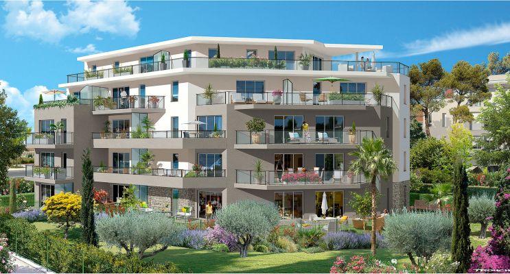Résidence « Le Jardin Des Oliviers » programme immobilier neuf en Loi Pinel à Saint-Laurent-du-Var