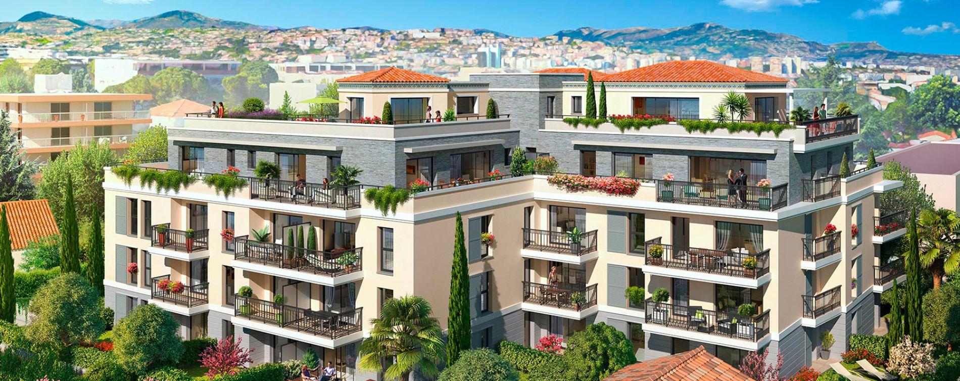 Saint-Laurent-du-Var : programme immobilier neuve « L'Écrin » en Loi Pinel (2)