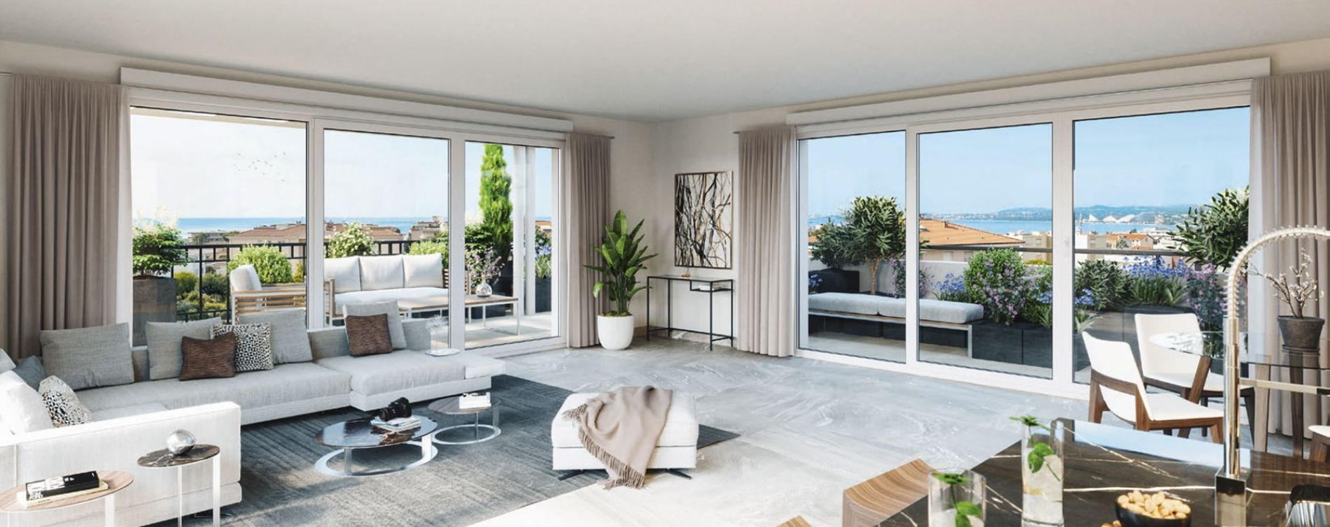 Saint-Laurent-du-Var : programme immobilier neuve « L'Écrin » en Loi Pinel (3)