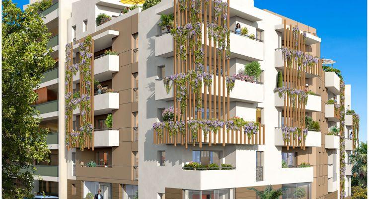 Résidence « Villa Dolce » programme immobilier neuf en Loi Pinel à Saint-Laurent-du-Var n°1