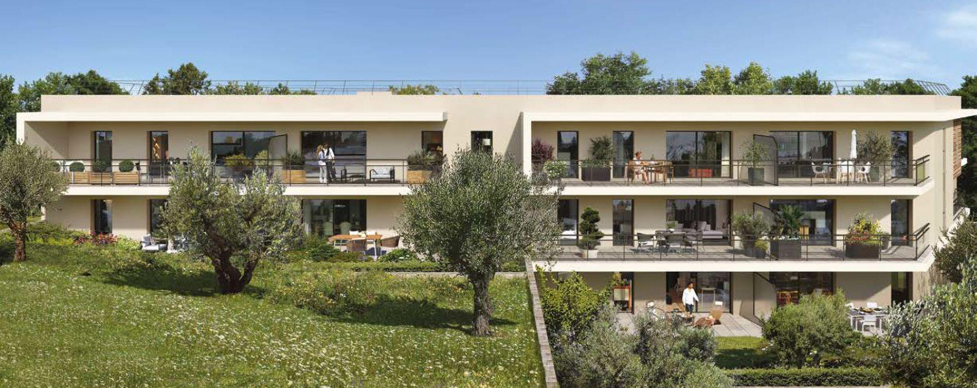 Valbonne : programme immobilier neuve « Programme immobilier n°219097 » en Loi Pinel (2)