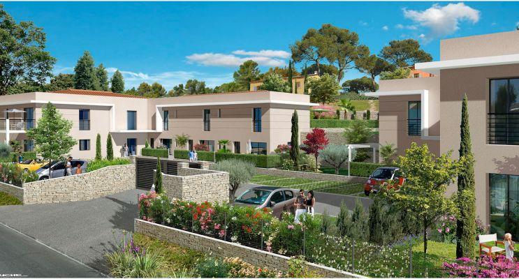 Valbonne : programme immobilier neuf « Le Domaine de Margot » en Loi Pinel