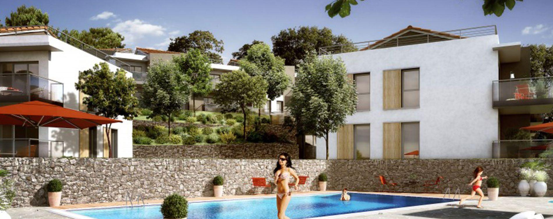 Vallauris : programme immobilier neuve « Domaine Heliopolis » en Loi Pinel