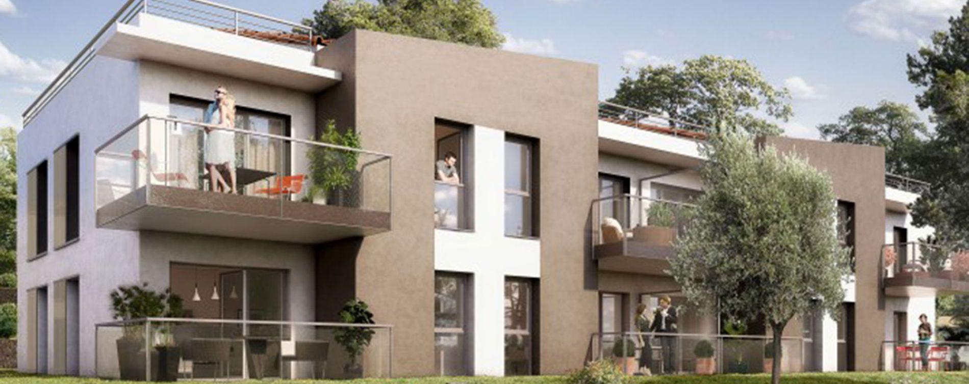 Vallauris : programme immobilier neuve « Domaine Heliopolis » en Loi Pinel (3)