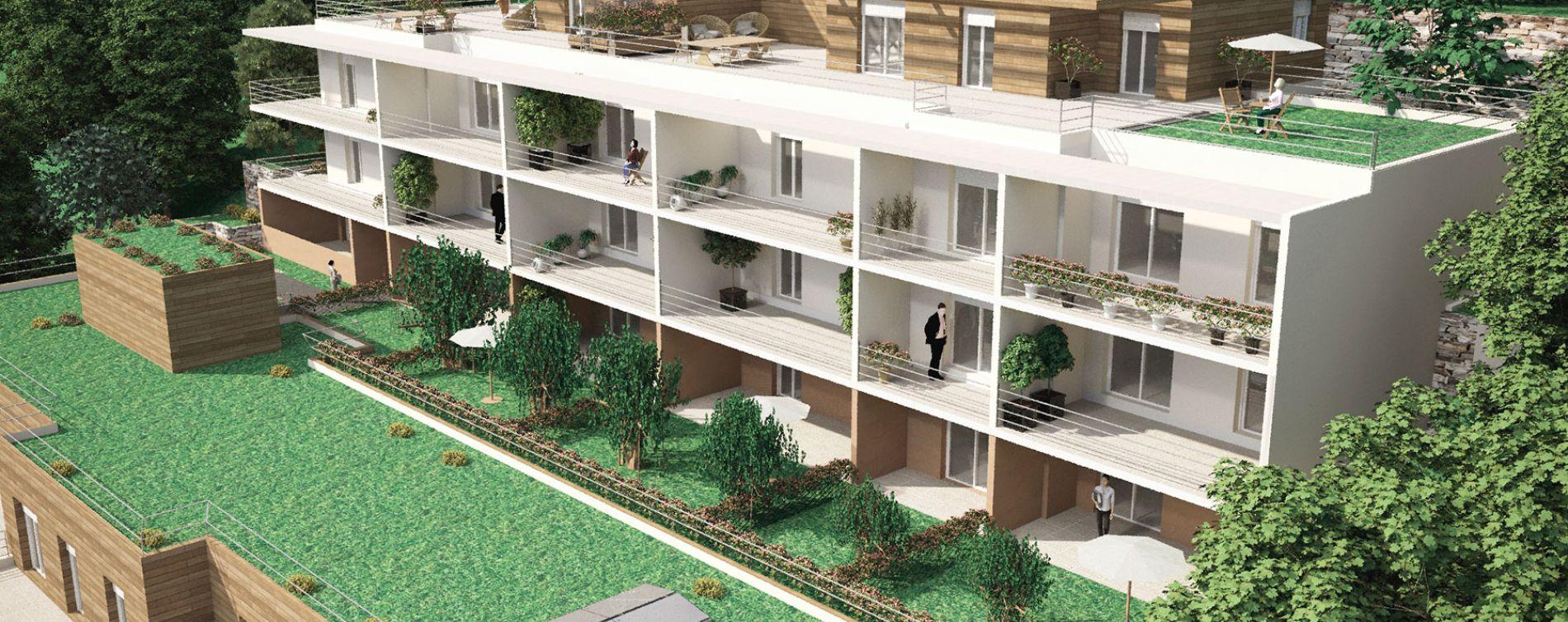 Vence : programme immobilier neuve « Harmonium » en Loi Pinel (3)