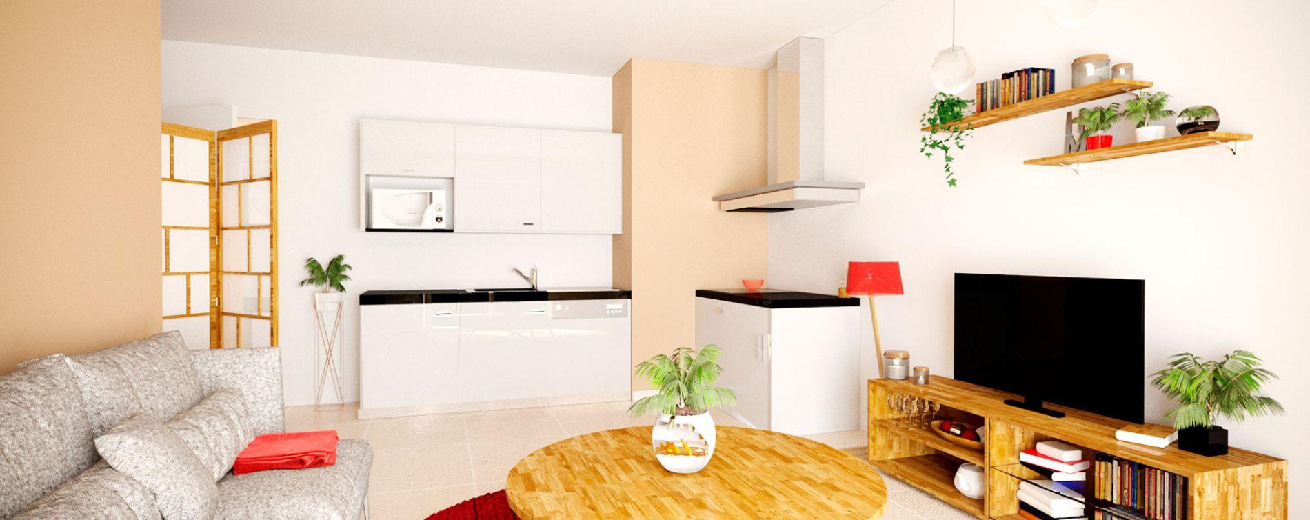Vence : programme immobilier neuve « Harmonium » en Loi Pinel (4)