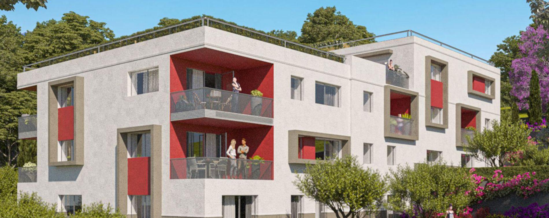 Vence : programme immobilier neuve « Les Terrasses de Lisa » en Loi Pinel (2)