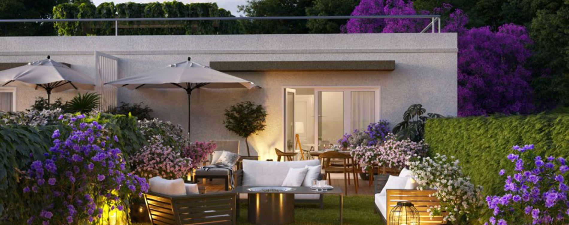 Vence : programme immobilier neuve « Les Terrasses de Lisa » en Loi Pinel (3)