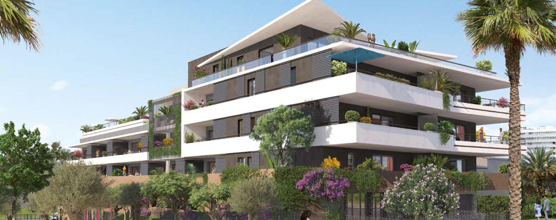 Villeneuve-Loubet : programme immobilier neuve « Programme immobilier n°219427 » en Loi Pinel (3)