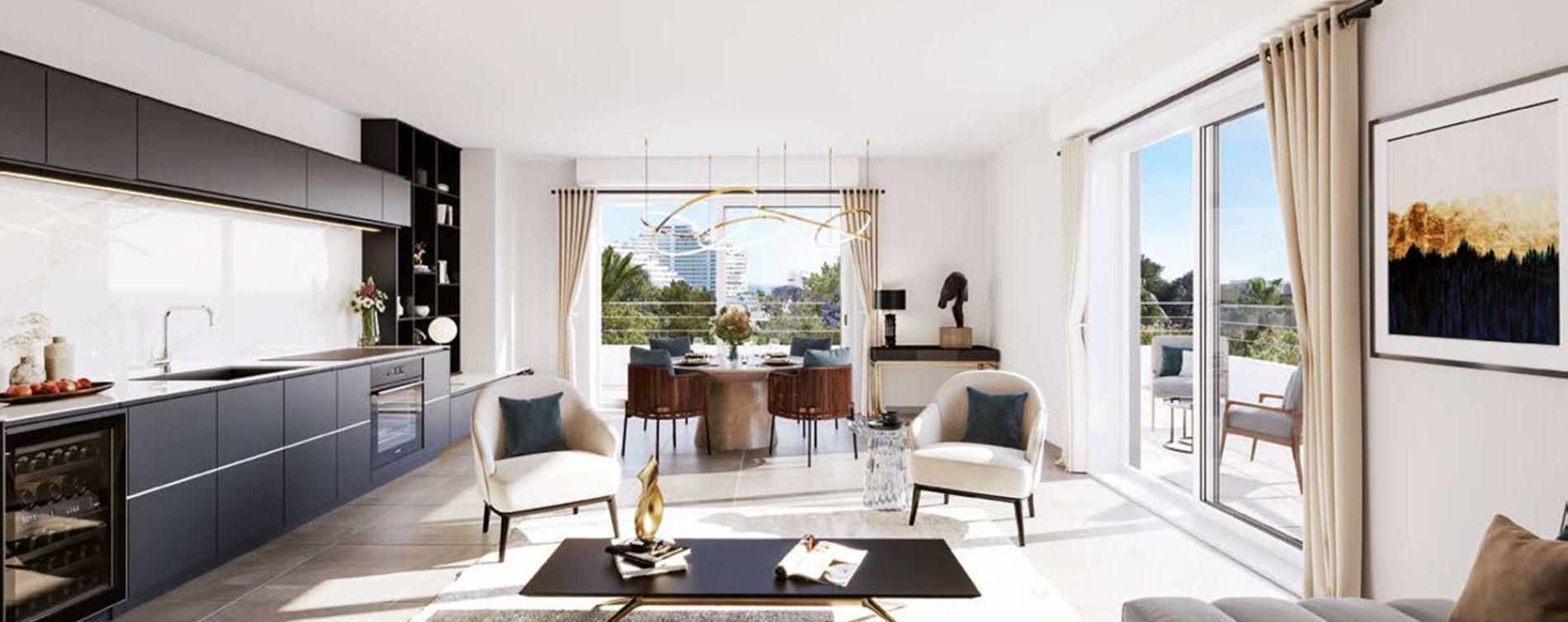 Villeneuve-Loubet : programme immobilier neuve « Programme immobilier n°219427 » en Loi Pinel (5)