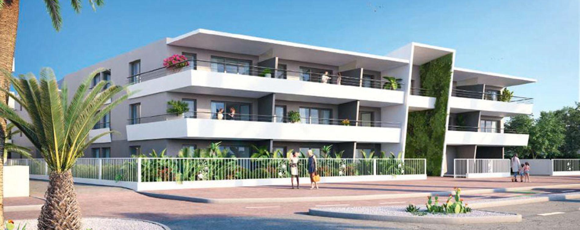 Villeneuve-Loubet : programme immobilier neuve « Pearl Beach » en Loi Pinel (2)
