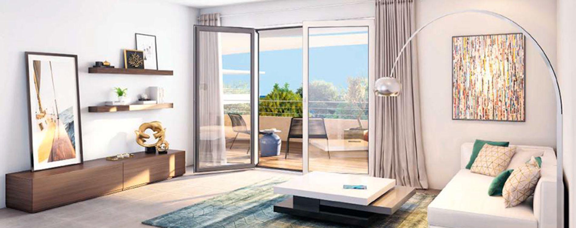 Villeneuve-Loubet : programme immobilier neuve « Pearl Beach » en Loi Pinel (5)
