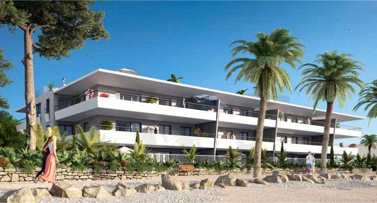 Villeneuve-Loubet : programme immobilier neuf « Pearl Beach » en Loi Pinel