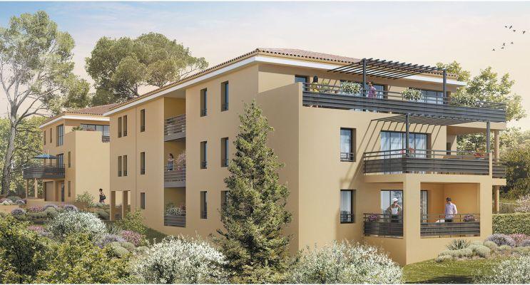 Photo du Résidence « Aix par Nature » programme immobilier neuf en Loi Pinel à Aix-en-Provence