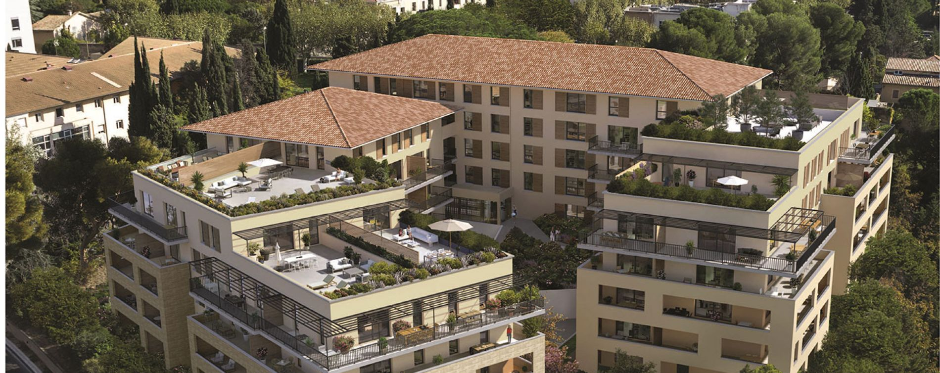 Aix-en-Provence : programme immobilier neuve « Aixcellence » en Loi Pinel (3)