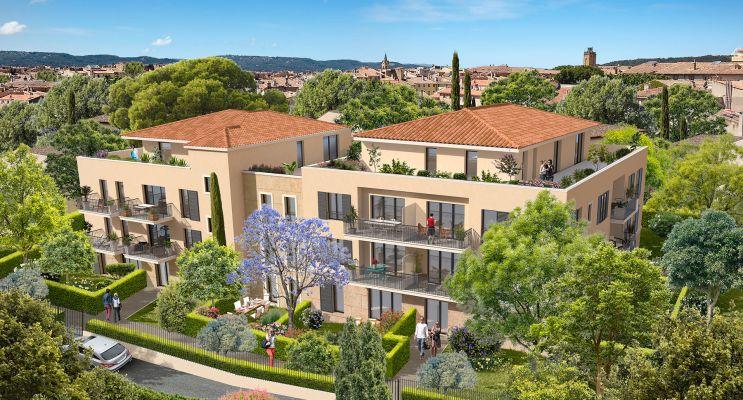 Résidence « Cœur Aixois » programme immobilier neuf en Loi Pinel à Aix-en-Provence n°1