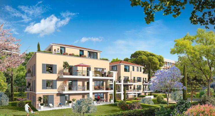 Résidence « Cœur Aixois » programme immobilier neuf en Loi Pinel à Aix-en-Provence n°2