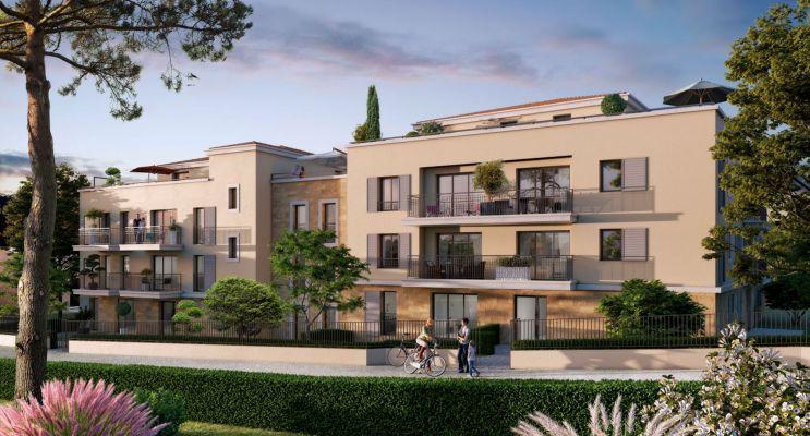 Résidence « Cœur Aixois » programme immobilier neuf en Loi Pinel à Aix-en-Provence n°3