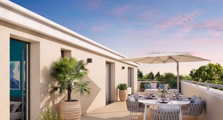 Résidence « Cœur Aixois » programme immobilier neuf en Loi Pinel à Aix-en-Provence n°4