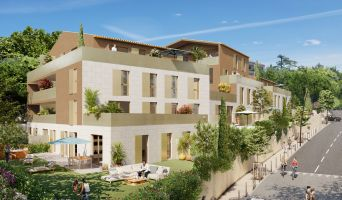 Aix-en-Provence : programme immobilier neuf « Collection Pigonnet » en Loi Pinel