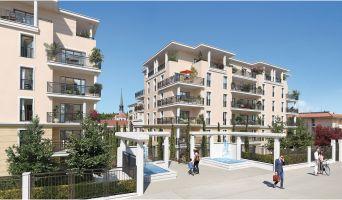 Aix-en-Provence programme immobilier neuve « Domaine du Parc Rambot » en Loi Pinel  (2)