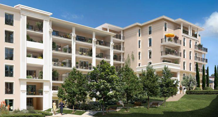 Aix-en-Provence : programme immobilier neuf « Domaine du Parc Rambot » en Loi Pinel