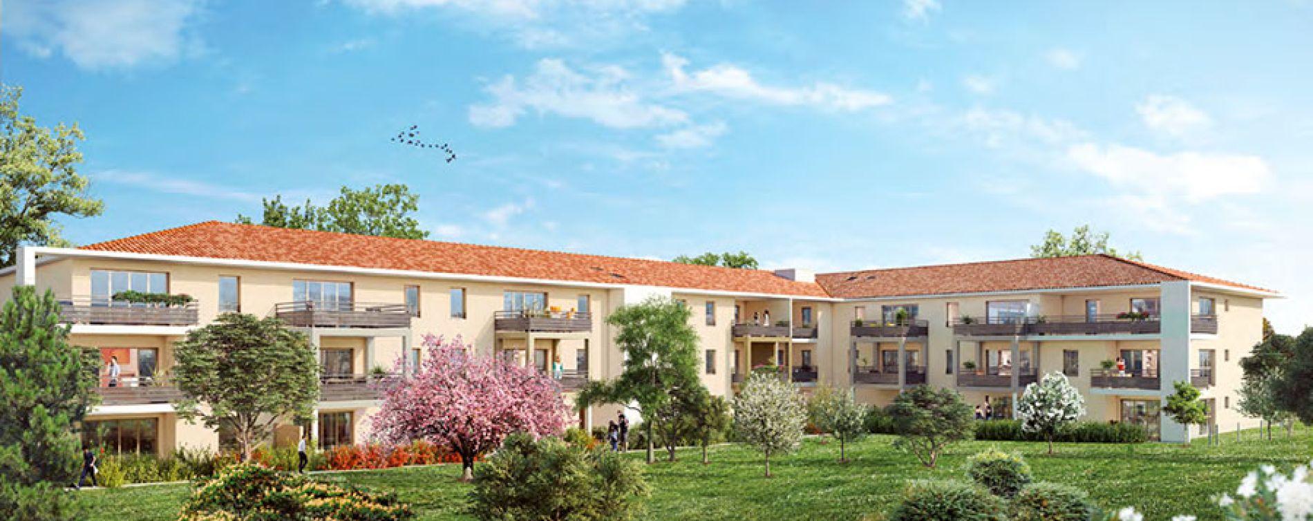 Ekinox aix en provence programme immobilier neuf n 211719 - Residence les jardins d arcadie aix en provence ...