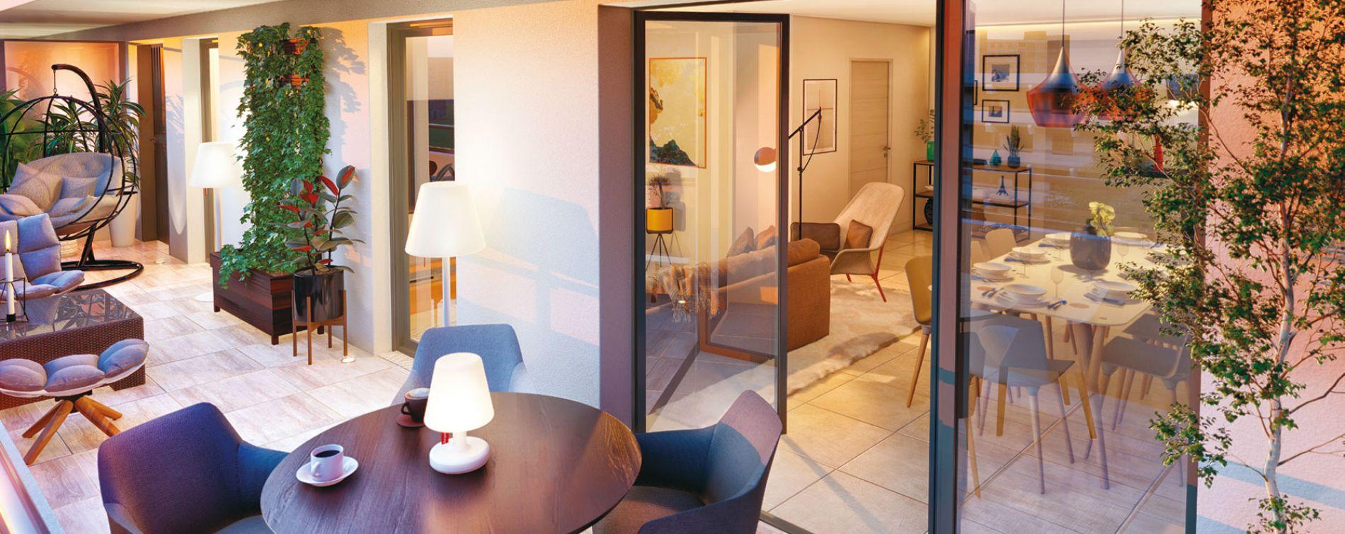 Aix-en-Provence : programme immobilier neuve « Excellence Méjanes » en Loi Pinel