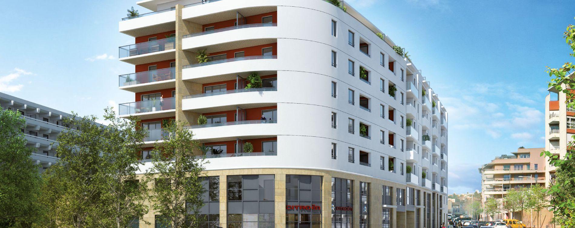 Aix-en-Provence : programme immobilier neuve « Excellence Méjanes » en Loi Pinel (3)