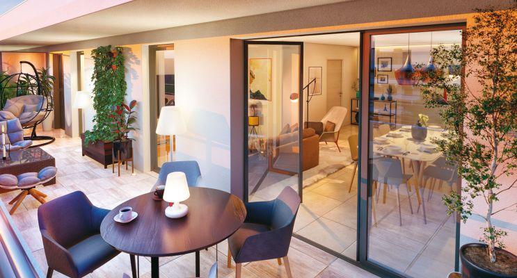 Aix-en-Provence : programme immobilier neuf « Excellence Méjanes » en Loi Pinel