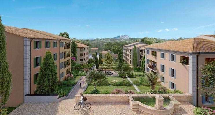 Photo du Résidence « Harmonie » programme immobilier neuf en Loi Pinel à Aix-en-Provence