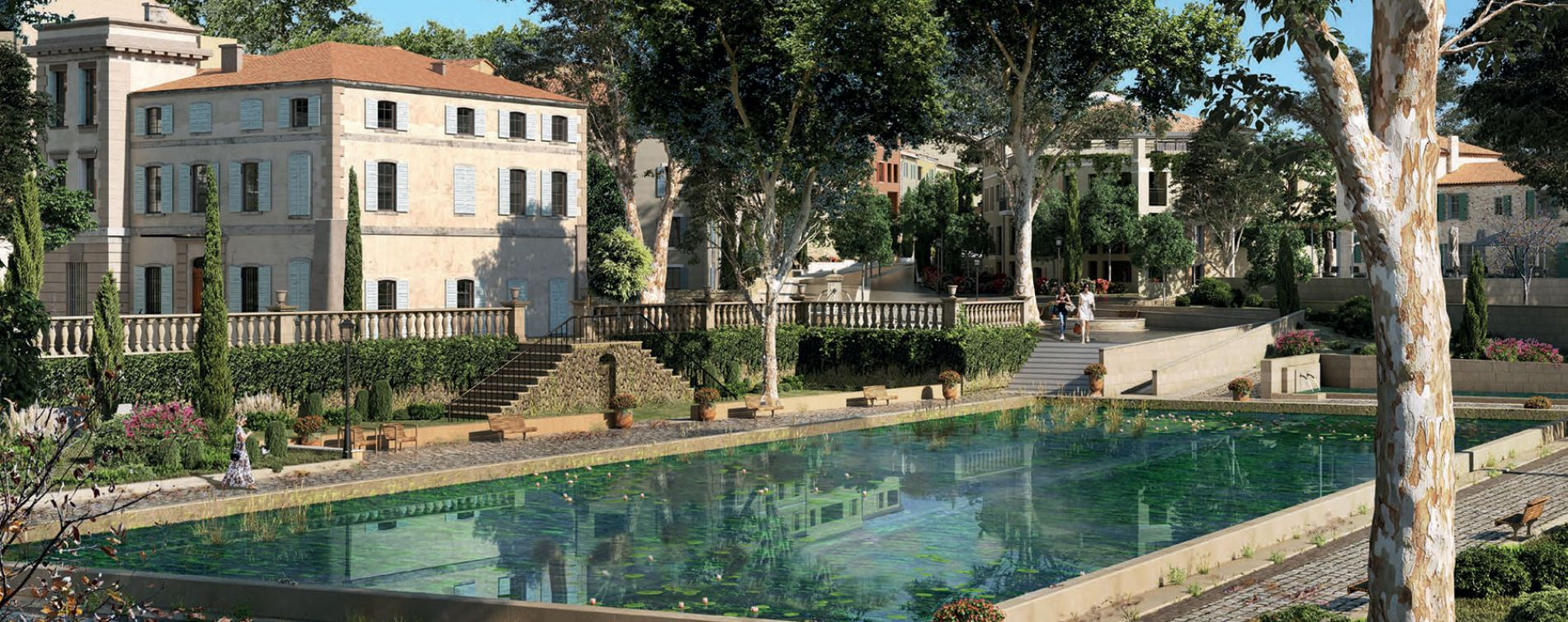 Aix-en-Provence : programme immobilier neuve « Harmonie » en Loi Pinel