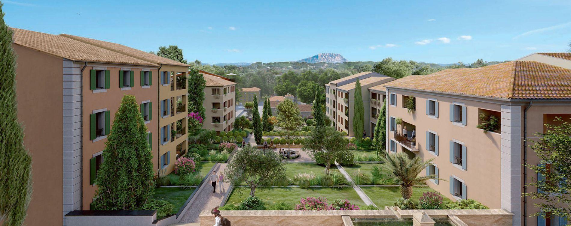 Aix-en-Provence : programme immobilier neuve « Harmonie » en Loi Pinel (2)