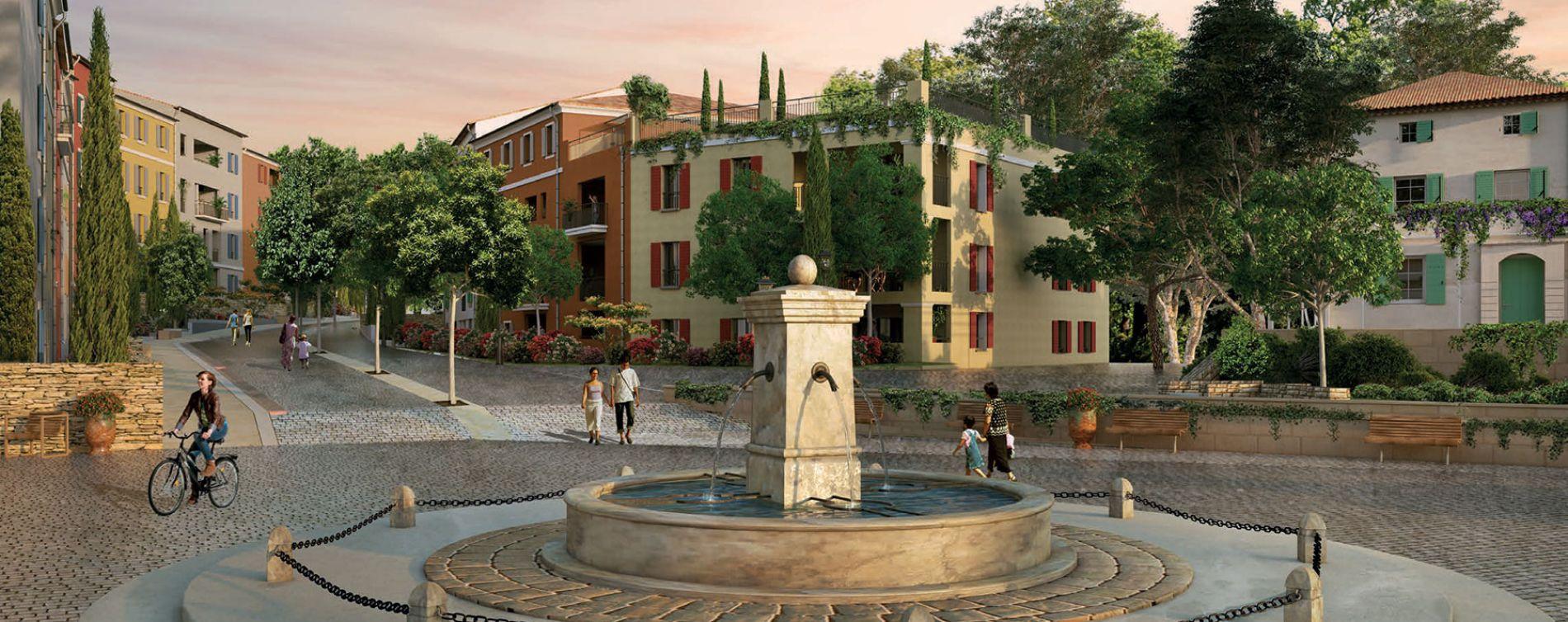 Aix-en-Provence : programme immobilier neuve « Harmonie » en Loi Pinel (3)