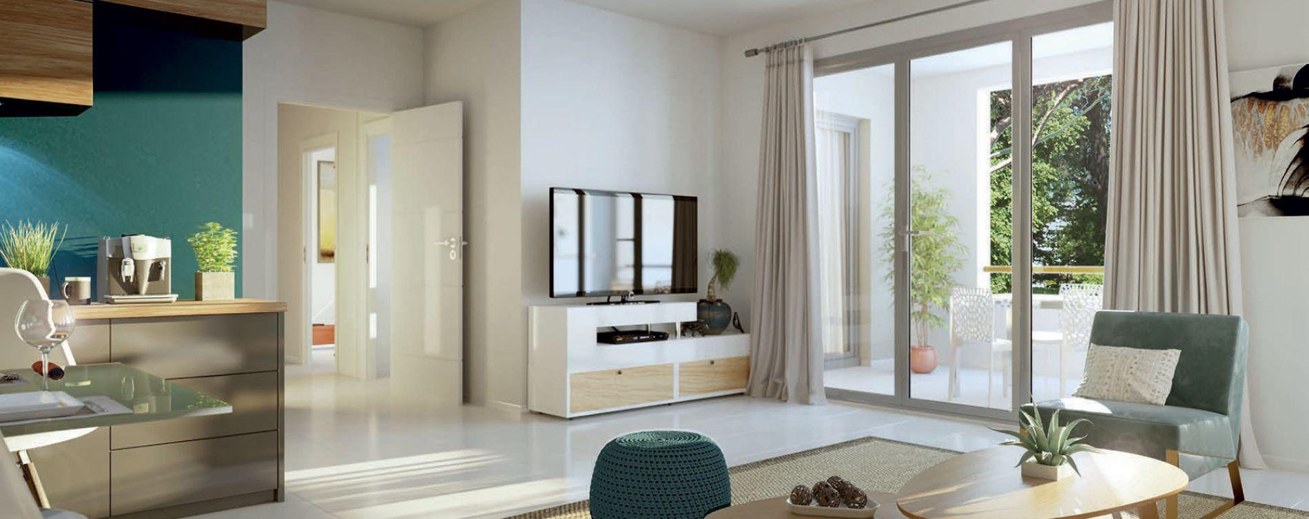 Aix-en-Provence : programme immobilier neuve « Harmonie » en Loi Pinel (4)