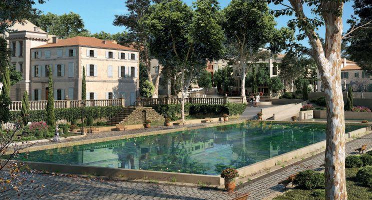 Aix-en-Provence : programme immobilier neuf « Harmonie » en Loi Pinel