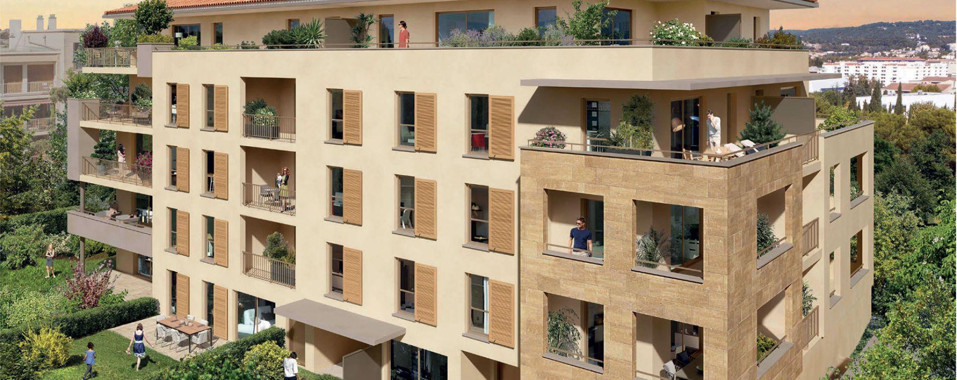 Aix-en-Provence : programme immobilier neuve « Héritage » en Loi Pinel