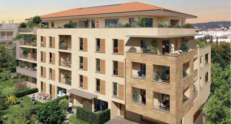 Aix-en-Provence : programme immobilier neuf « Héritage » en Loi Pinel