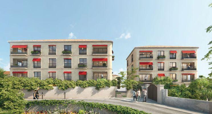 Photo du Résidence « La Bastide Rouge » programme immobilier neuf en Loi Pinel à Aix-en-Provence