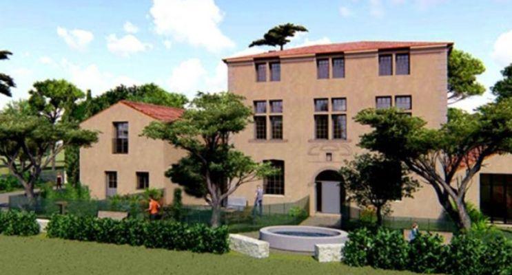 Aix-en-Provence : programme immobilier à rénover « La Blaque » en Loi Pinel ancien