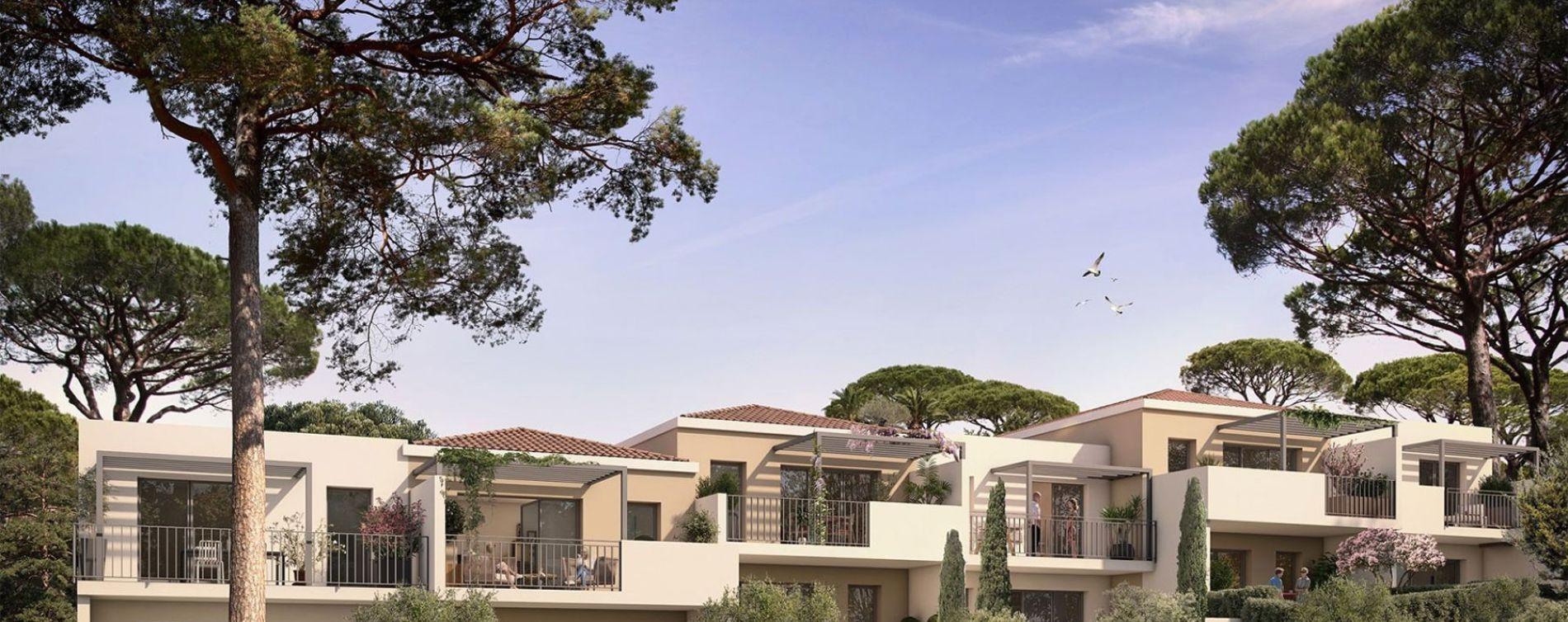 Aix-en-Provence : programme immobilier neuve « La Restanque » en Loi Pinel